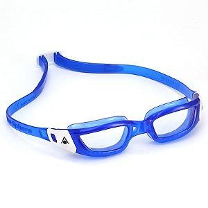 Óculos de Natação Aqua Sphere Kameleon Azul e Branco Lente Transparente