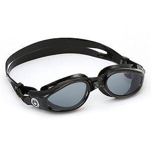 Óculos de Natação Aqua Sphere Kaiman Preto Lente Fumê