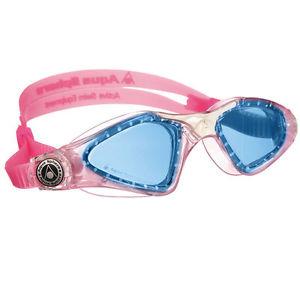 Óculos de Natação Aqua Sphere Kayenne JR Rosa / Branco - Lente Azul