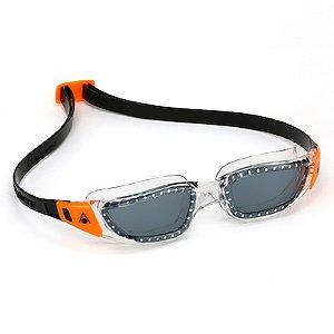 Óculos de Natação Aqua Sphere Kameleon JR Preto e Laranja Lente Fumê