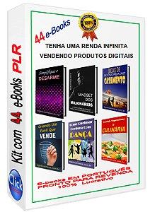 Kit Com 44 E-books PLR