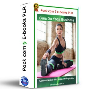 Pack com 9 E-books PLR
