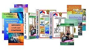 Pack com 21 E-books PLR em Português