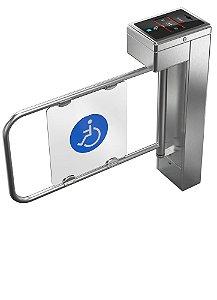 Catraca iD Block PNE para Cadeirantes (Acessibilidade) - Control iD