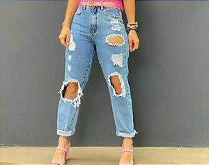 Calça Destroyed Jeans