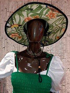 Chapéu de Palha Estampa