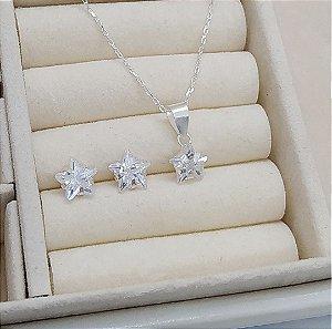 Conjunto Prata Estrela