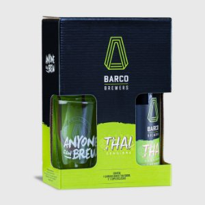 Kit Thai Weiss Barco 600ml - Uma Garrafa + Um Copo