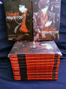 Crimes Perfeitos Vol 01 ao 12 Completo