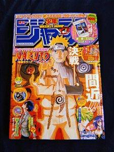 Weekly Shonen Jump 2011 Vol 02 (Capa Naruto)