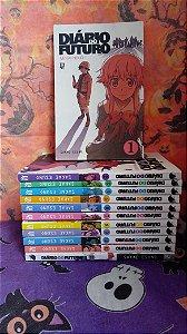 Diario do Futuro: Mirai Nikki Completo 12 Volumes