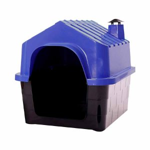 Casinha Dura House Azul para Cães