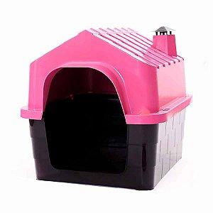Casa Dura House Rosa para Cães