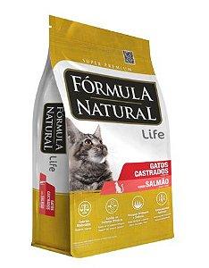 Fórmula Natural Super Premium Gatos Castrados Sabor Salmão 15kg