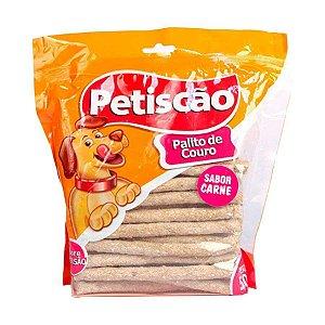 Osso Petiscão Cães Sabor Carne Palito - 500g