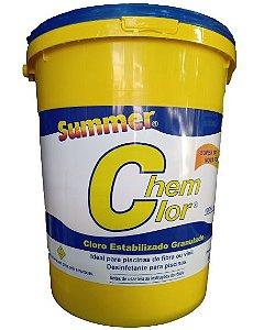 Chem clor 3 em 1 – Cloro para piscina Summer 10kg