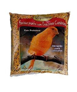 Farinhada Pronta Com Ovos Para Canario 500g