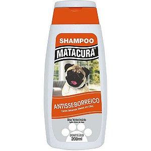 Shampoo Matacura Antisseborreico para Cães 200ml