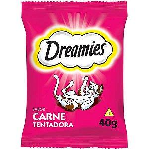 Petisco Dreamies Carne Para Gatos Adultos - 40g