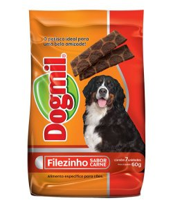 Dogmil Filezinho Sabor Carne Para Cães-60g