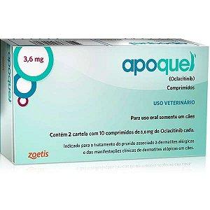 Apoquel Zoetis Dermatológico para Cães 3,6 mg