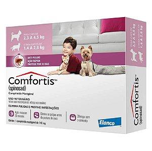 Antipulgas Comfortis Elanco para Cães e Gatos de 2,3 a 4,5kg