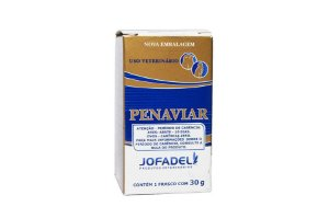 Penaviar Pó 30g Infecções De Aves - Antimicrobiano Para Aves