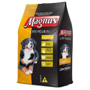 Ração Magnus Super Premium para Cães Adultos  Frango 15,kg