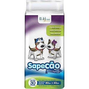Tapete Higiênico Sapecão com Atrativo Canino High Premium 30 Unidades