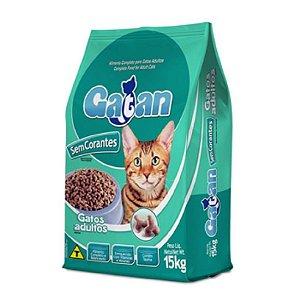 Gatan Sem Corantes para gatos adultos. Embalagens 15kg