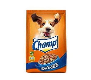 Ração Champ para Cães Adultos Sabor Carne e Cereal