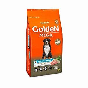 Ração Golden Mega para Cães Adultos Sabor Frango e Arroz
