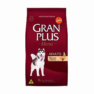 Ração GranPlus para Cães Adultos Sabor Frango e Arroz