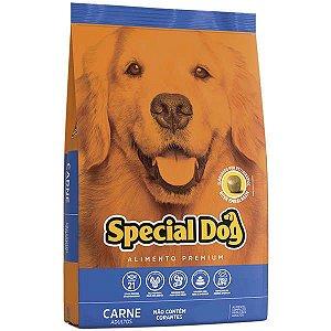 Ração Special Dog Carne  para Cães Adultos