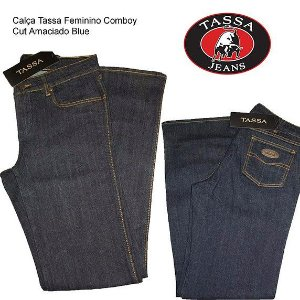 Calça Tassa Feminino Cowboy Cut Amaciado Blue