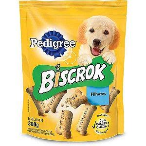 Biscoito Pedigree Biscrok  para Cães Filhotes 300g