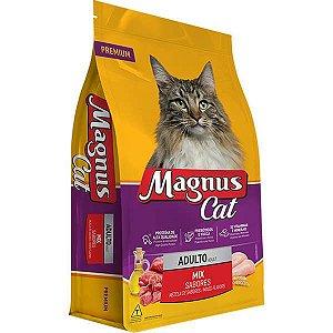 Ração Magnus Cat Premium Adultos Mix Sabores 25kg
