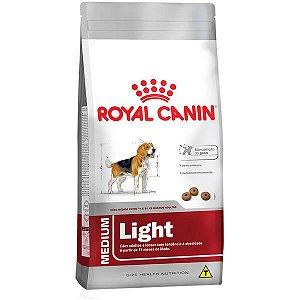 Ração Royal Canin Light para Cães Adultos ou Idosos Obesos de Raças Médias 15kg