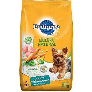 Ração Pedigree Equilíbrio Natural para Cães Adultos Raças Pequenas 20kg