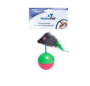 Brinquedo Rato João Bobo HomePet Para Gatos