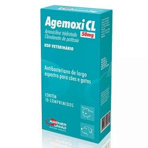 Agemoxi CL Agener União 50mg 10 Comprimidos