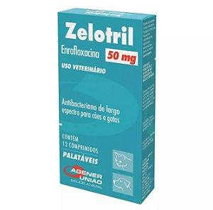 Zelotril Agener União 50mg 12 Comprimidos