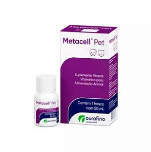 Suplemento Ourofino Metacell Pet 50ml