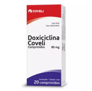Doxiciclina Coveli 80 mg 20 Comprimidos