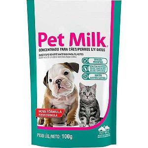 Suplemento Pet Milk para Cães e Gatos 100g