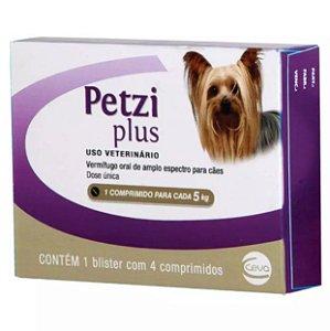 Petzi Plus Ceva para Cães até 5kg