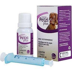 Petzi Plus Suspensão Ceva 20ml