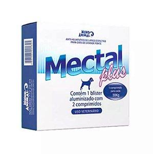 Mectal Plus Mundo Animal para Cães 30kg