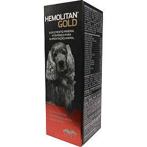Suplemento Vetnil Hemolitan Gold Gotas 60ml