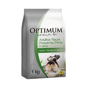 Ração Optimum Cães Adultos Raça Pequena Frango e Arroz 1kg